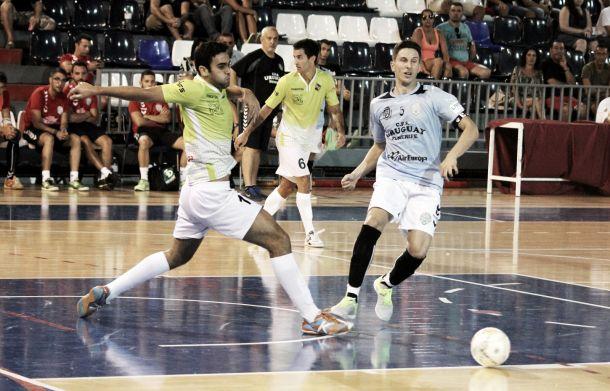 El Uruguay pierde su torneo de presentación ante el Palma Futsal