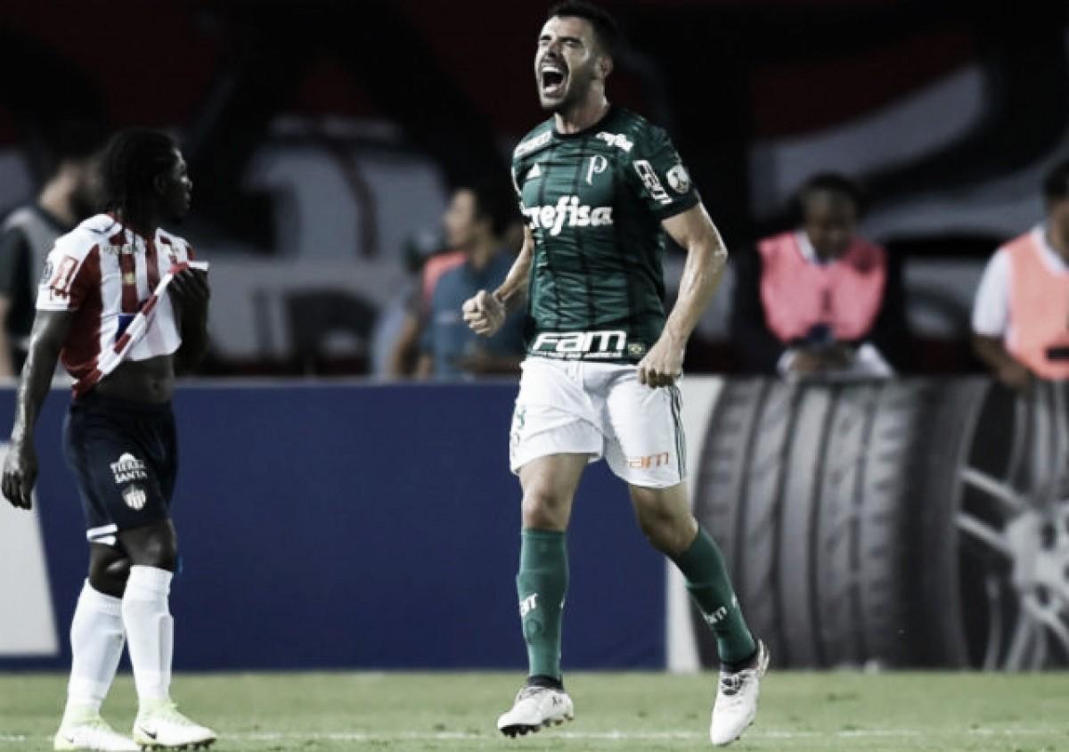 Junior se desvaneció y Palmeiras impuso su jerarquía en Barranquilla