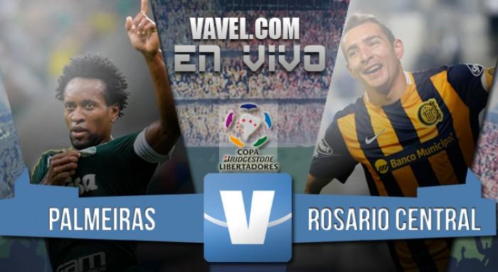 Resultado Palmeiras 2-0 Rosario Central en Copa Libertadores