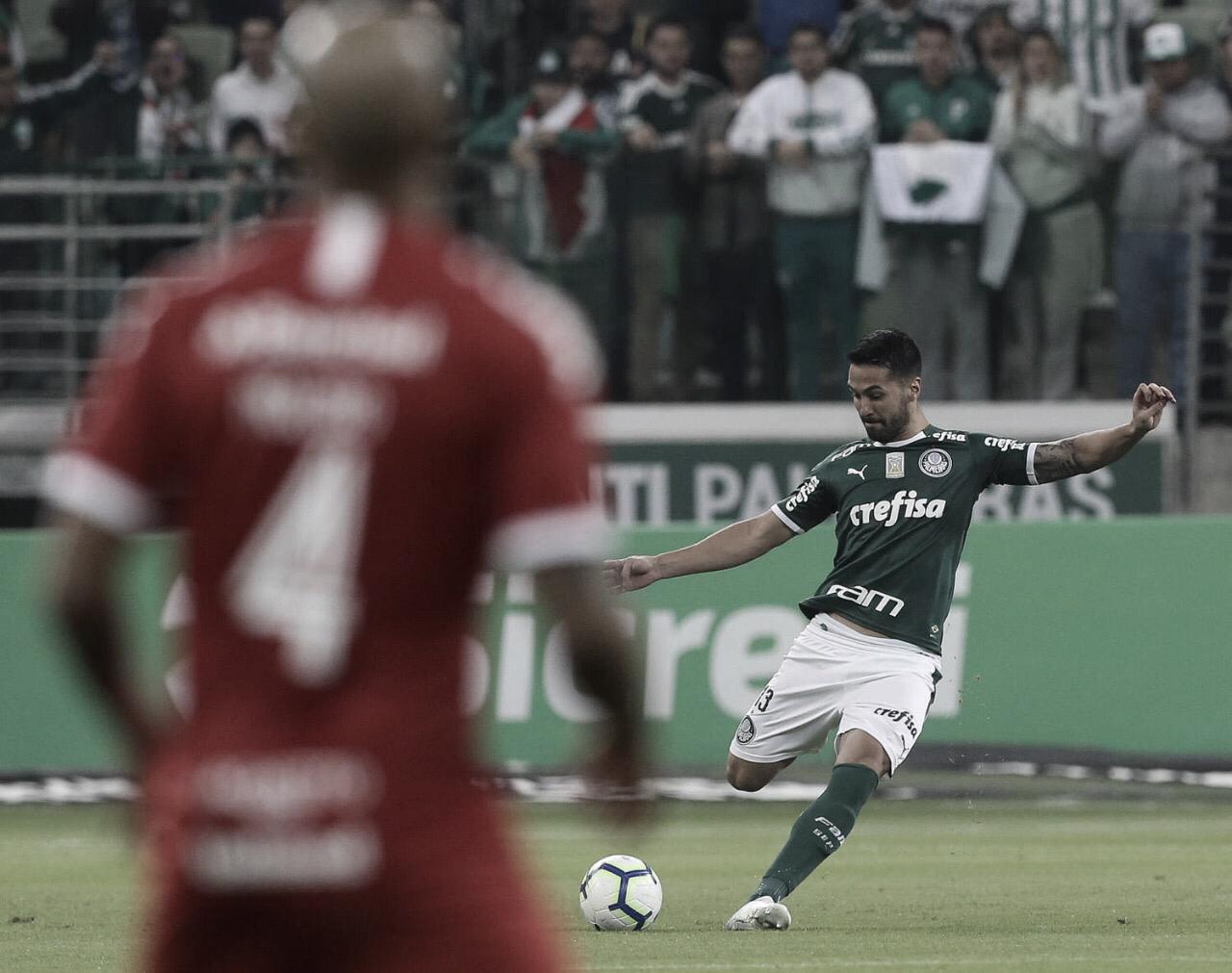 Precisando da vitória, Internacional recebe Palmeiras pela Copa do Brasil
