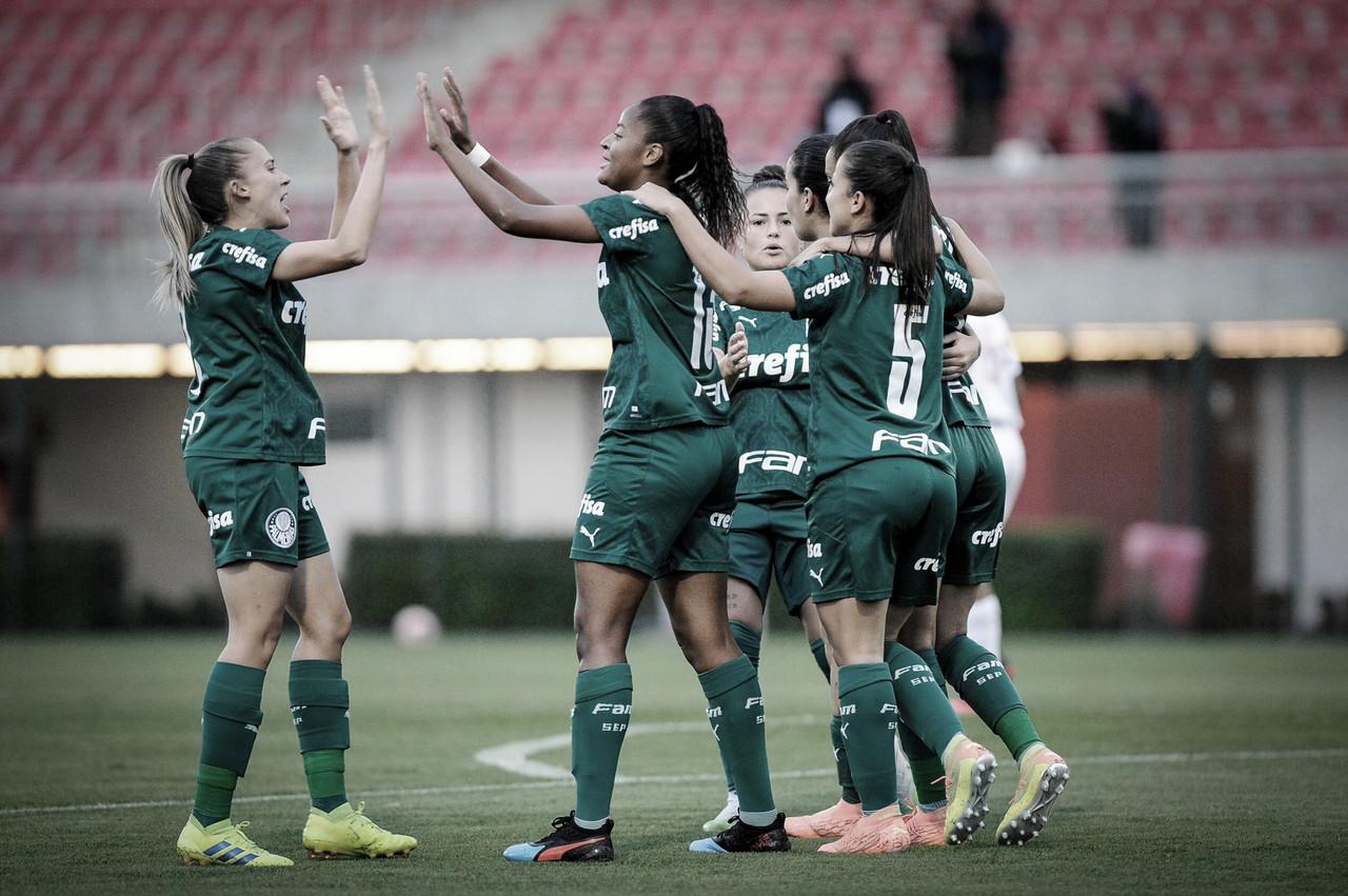Em jogo movimentado, Palmeiras bate São Paulo pelo Paulistão Feminino