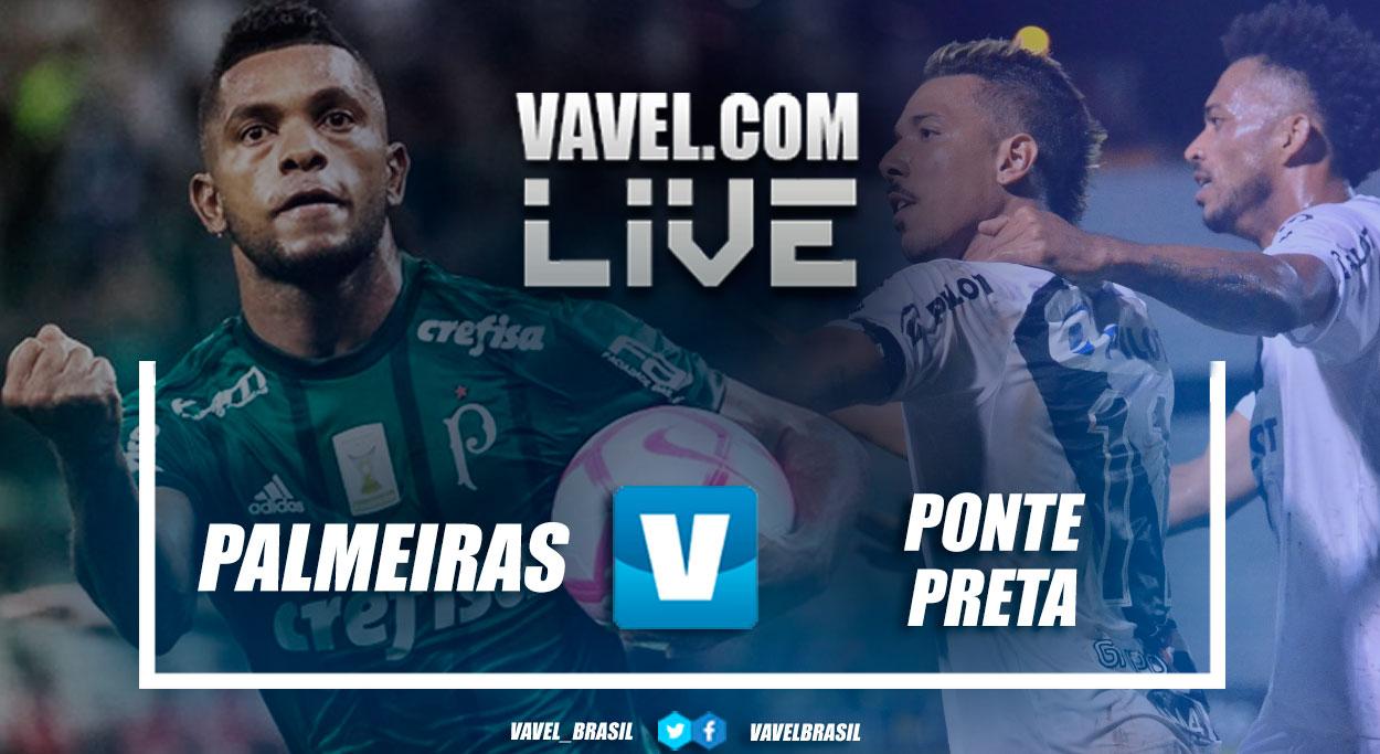Jogo Palmeiras x Ponte Preta AO VIVO online pelo Campeonato Paulista 2019 (1-0)