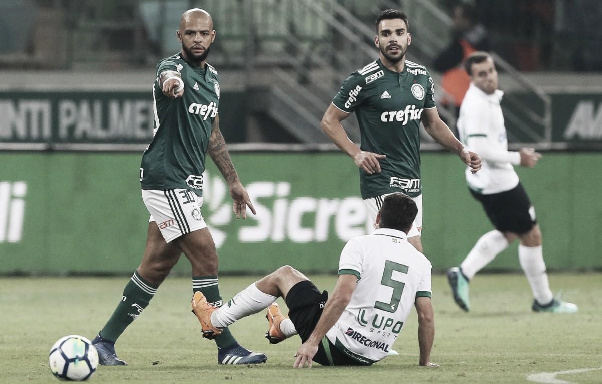 No sufoco: Palmeiras empata com América-MG e garante vaga nas quartas da Copa do Brasil