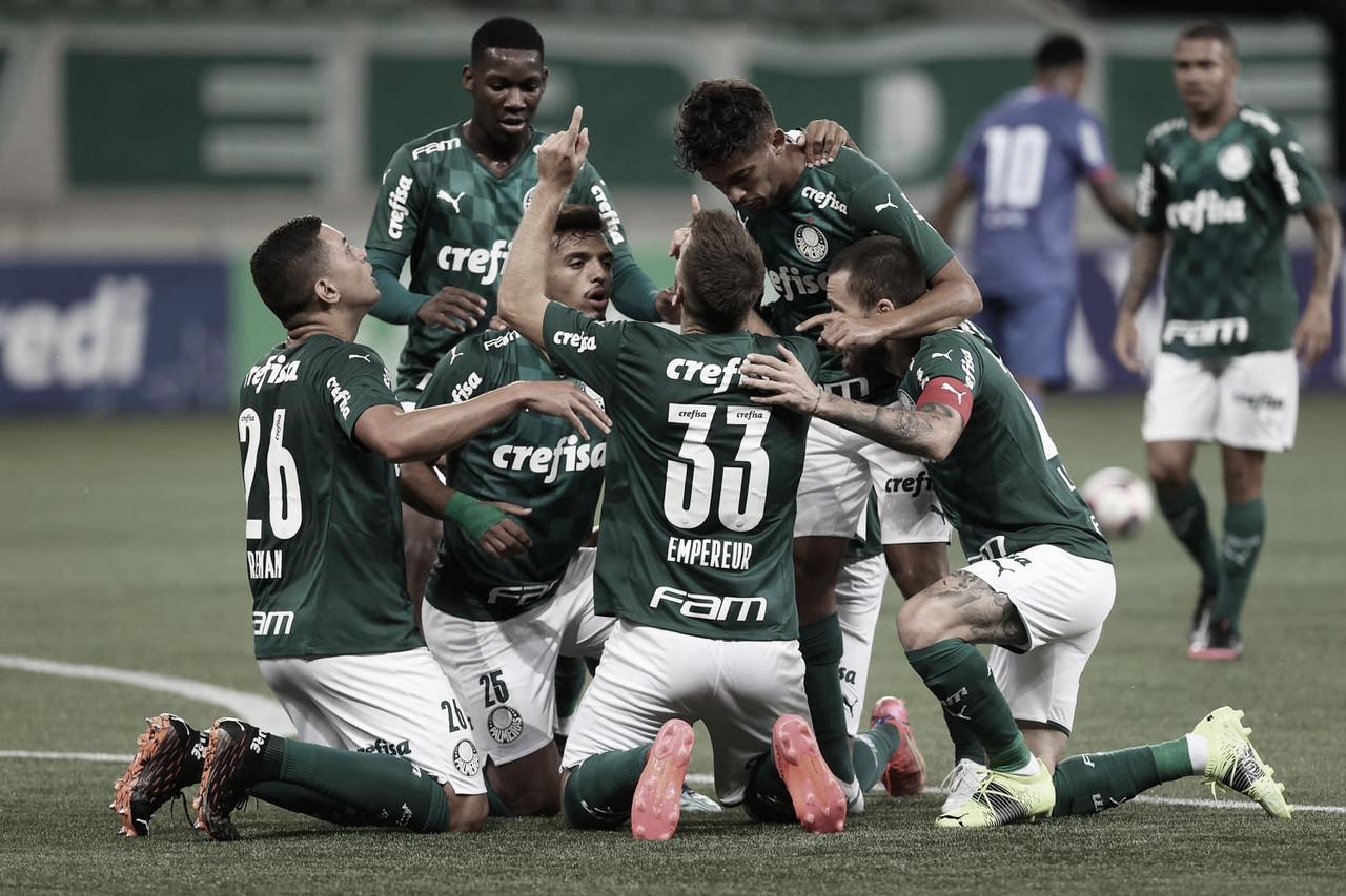 Lucas Lima dita ritmo, Palmeiras bate São Caetano e vence primeira no Paulistão