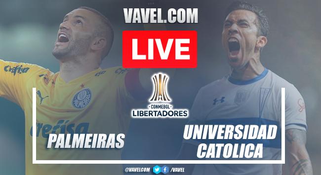 Goal and Highlights: Palmeiras 1-0 Universidad Catolica in Copa Libertadores