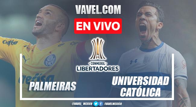 Gol y resumen del Palmeiras 1-0 Universidad Católicaen Copa Libertadores 2021
