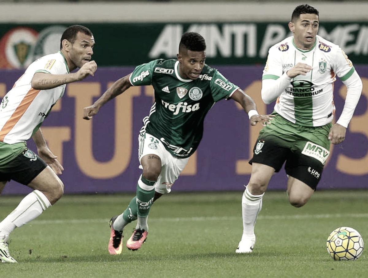 Resultado América-MG x Palmeiras pela Copa do Brasil 2018 (1-2)