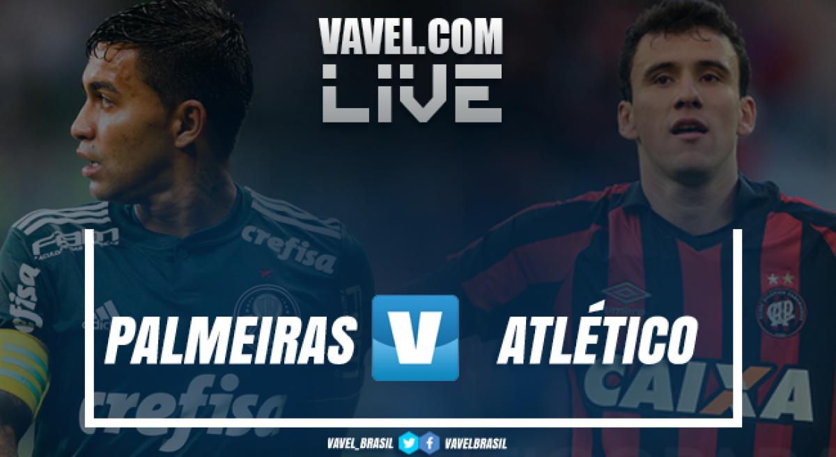 Resultado Palmeiras 2x0 Atlético-PR no Campeonato Brasileiro 2018