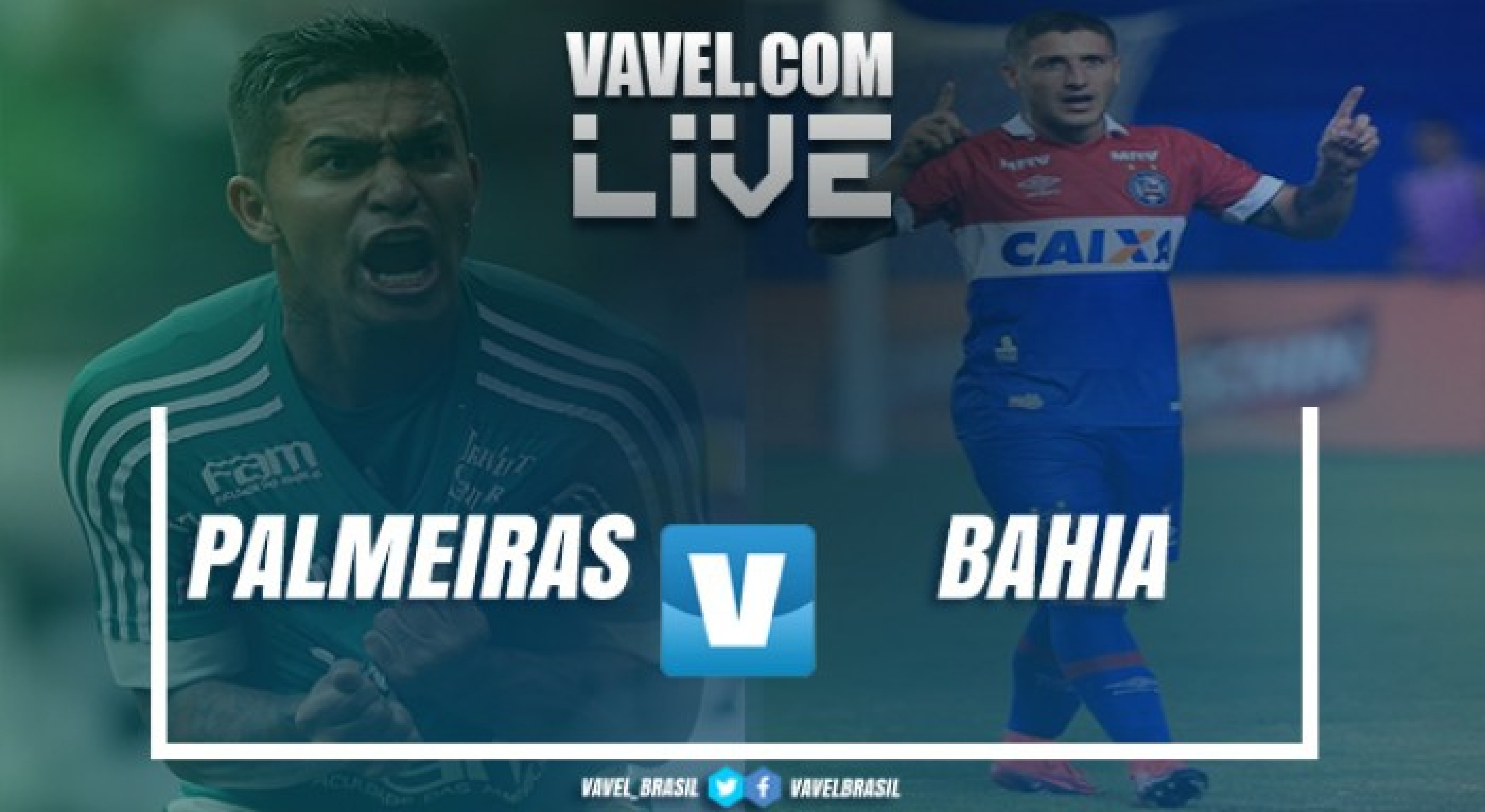 Resultado e gols de Bahia x Palmeiras pelo Campeonato Brasileiro 2018 (1-1)