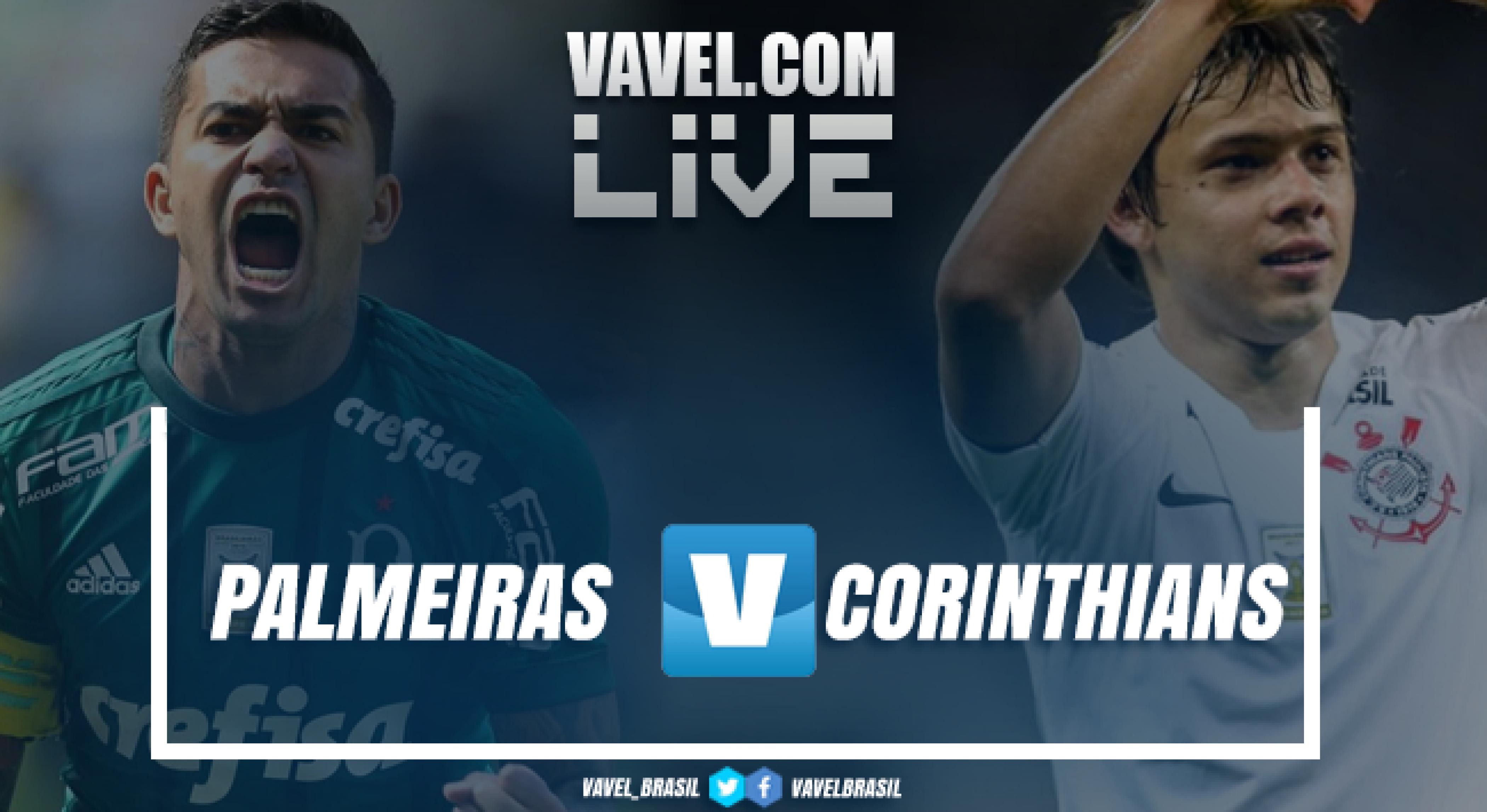 Resultado Palmeiras x Corinthians no Campeonato Brasileiro 2018 (1-0)