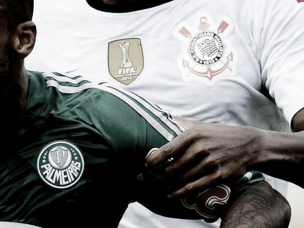 Com o lema 'Adversário não é inimigo. Rivais só em campo', presidentes e treinadores de Palmeiras e Corinthians se juntam em coletiva