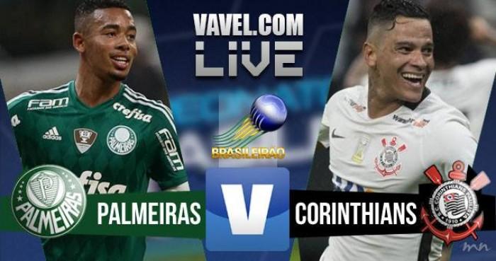 Resultado Palmeiras x Corinthians no Campeonato Brasileiro 2016 (1-0)