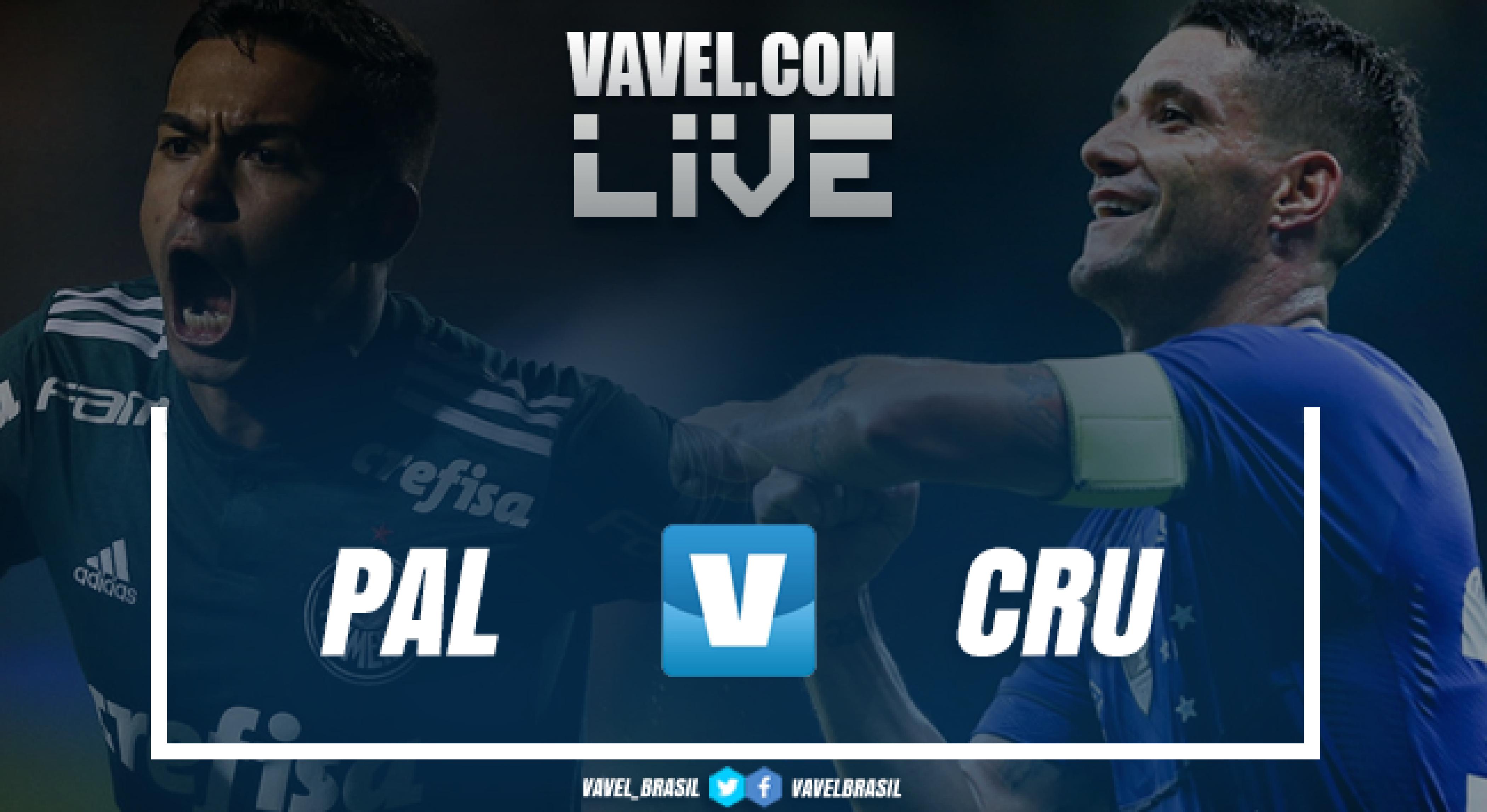 Resultado para Palmeiras x Cruzeiro pela semifinal da Copa do Brasil (0-1)