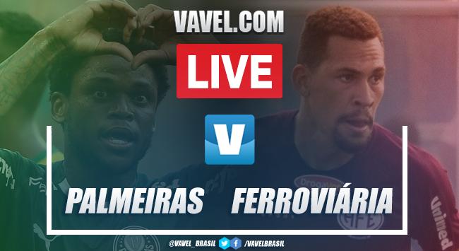 Gols e melhores momentos para Palmeiras 1x1 Ferroviária pelo Campeonato Paulista 2020