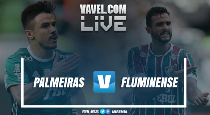 Resultado Palmeiras 3x1 Fluminense Campeonato Brasileiro 2017 (3x1)