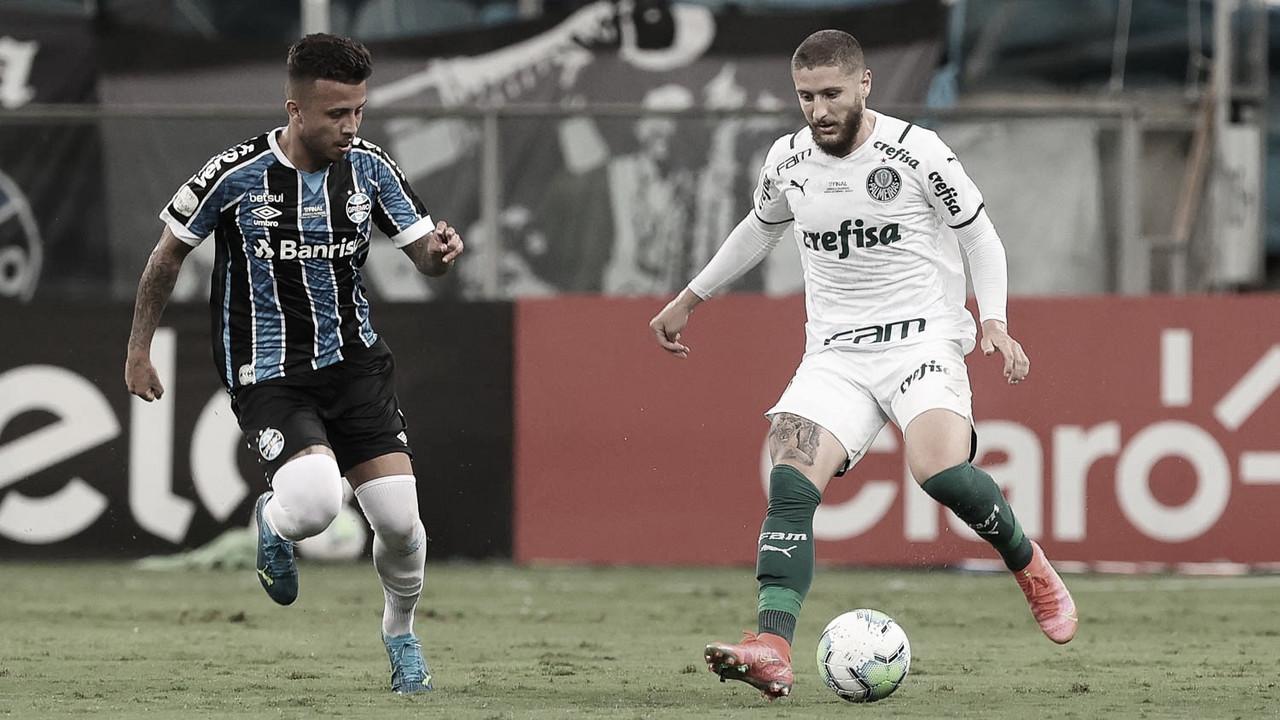 Com vantagem, Palmeiras decide contra Grêmio final da Copa do Brasil