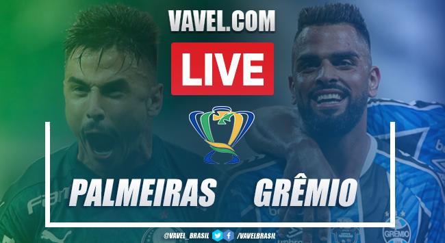 Gols e melhores momentos Palmeiras x Grêmio pela Copa do Brasil