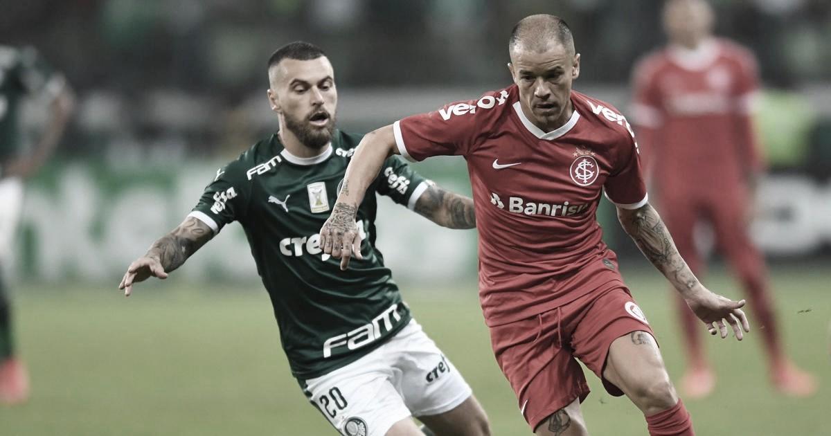 Sem perder há dez jogos, Palmeiras encara líder Internacional pelo Brasileirão