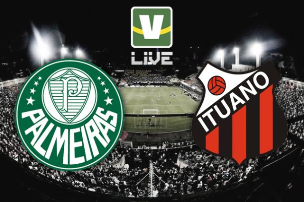Palmeiras x Ituano, Campeonato Paulista ao vivo online
