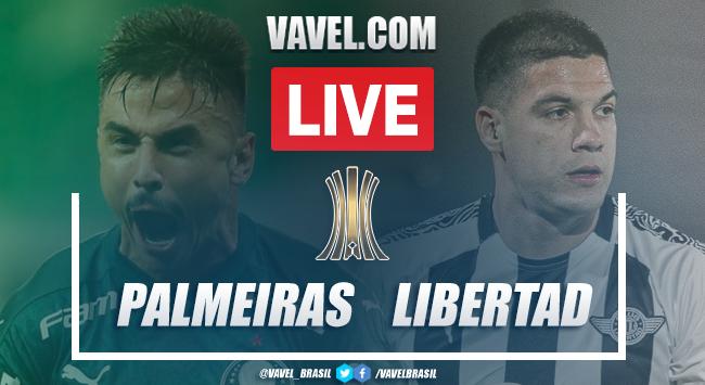 Gols e melhores momentos Palmeiras 3 x 0 Libertad pela Libertadores 2020