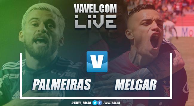 Resultado Palmeiras x Melgar pela Libertadores (3-0)