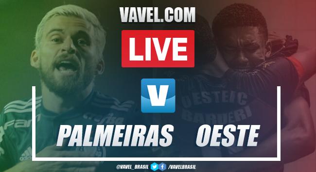 Gols e melhores momentos para Palmeiras 4x0 Oeste pelo Paulistão