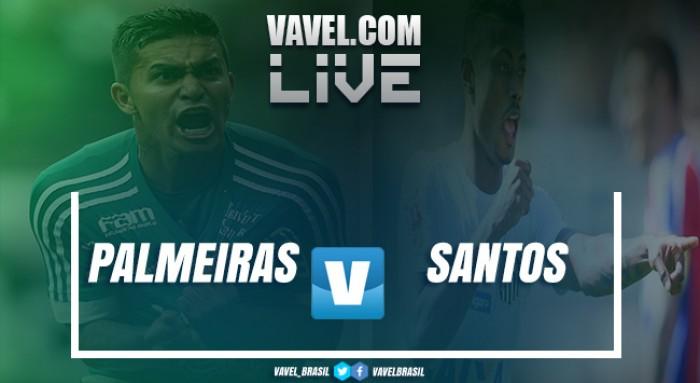 Resultado Palmeiras 0x1 Santos no Campeonato Brasileiro 2017