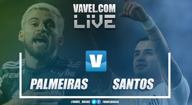Resultado Palmeiras e Santos pelo Campeonato Paulista 2019