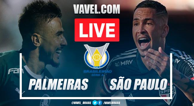 Gols e melhores momentos para Palmeiras 0x2 São Paulo pelo Campeonato Brasileiro 2020
