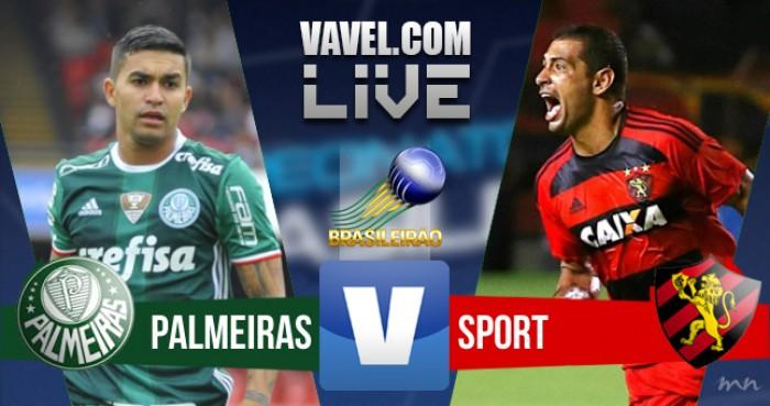 Resultado Palmeiras x Sport no Campeonato Brasileiro 2016 (2-1)