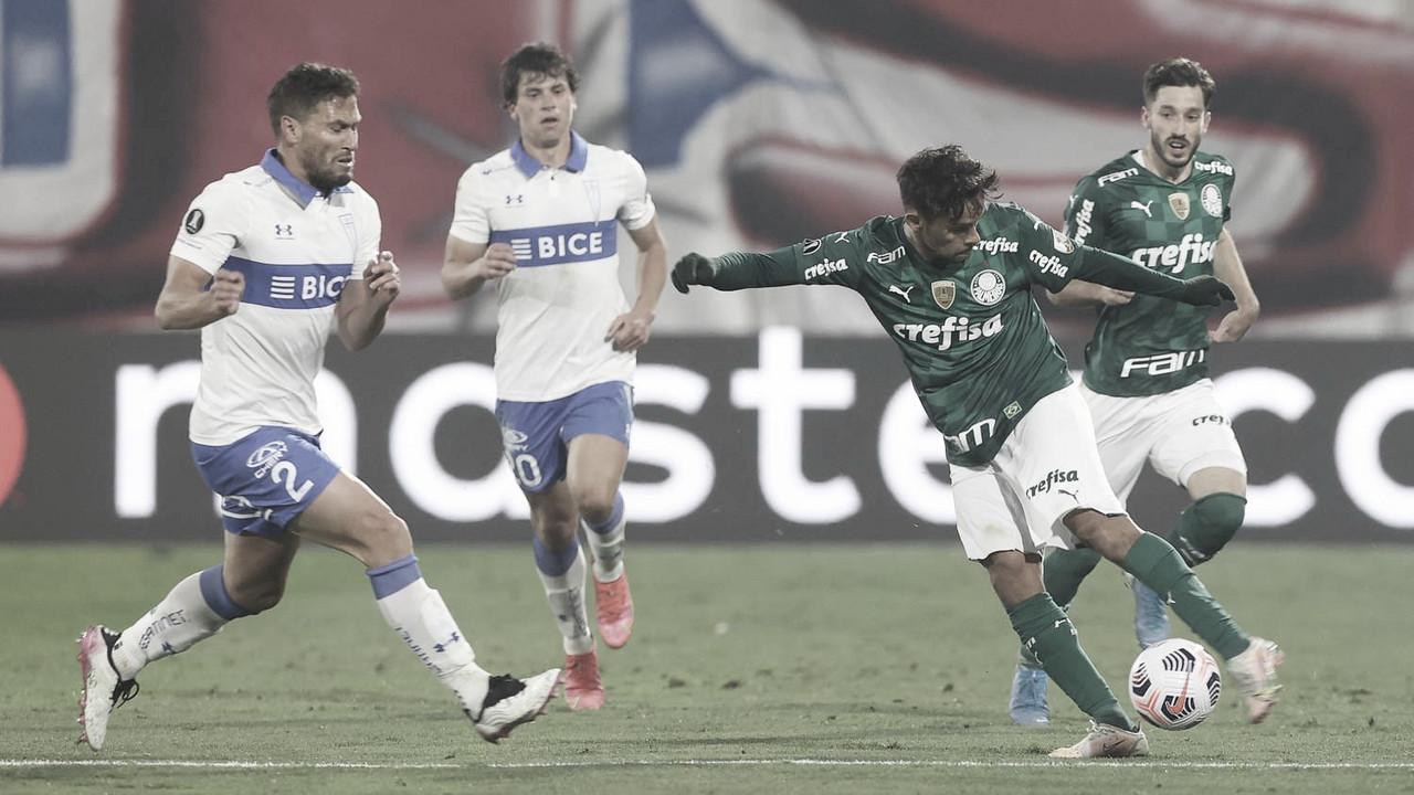 Palmeiras encara Universidad Católica e tem vantagem para seguir na Libertadores