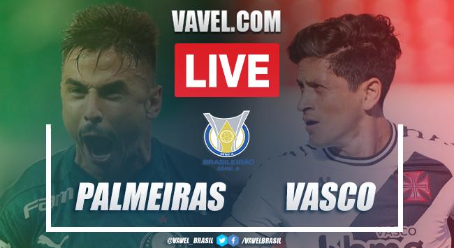 Gols e melhores momentos para Palmeiras 1x1 Vasco pelo Campeonato Brasileiro