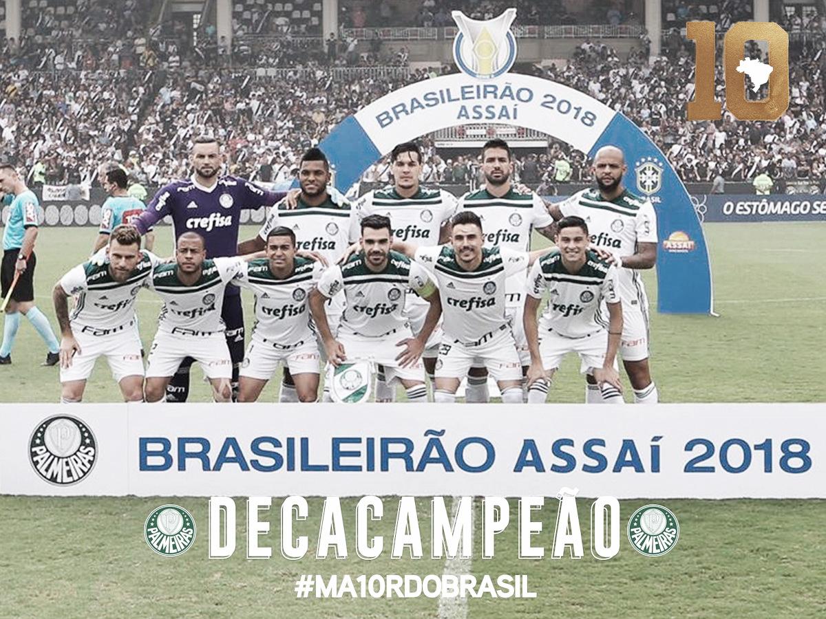 Palmeiras decacampeão: depois de campanhas ruins, Verdão volta a ser protagonista no Brasileirão