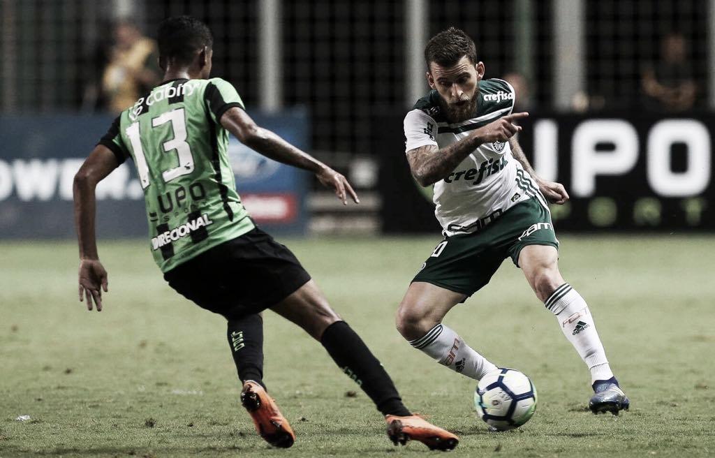 Em jogo que pode definir título, Palmeiras reencontra desesperado América-MG