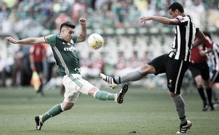 Dudu garante vitória do Palmeiras diante do Botafogo, mas Santos adia título antecipado