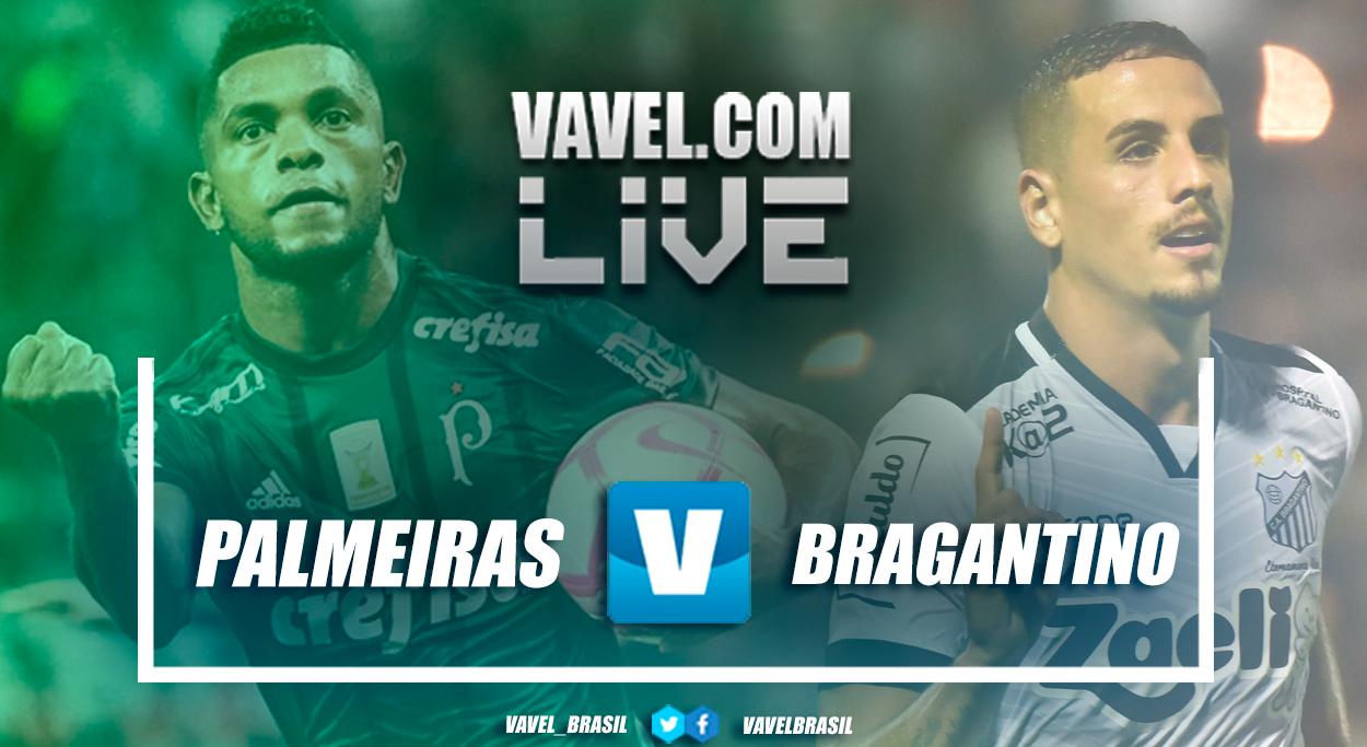 Resultado e gols do jogo Palmeiras x Bragantino no Campeonato Paulista 2019