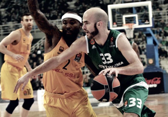 Eurolega - La tenacia premia il Panathinaikos, cade il Barcellona all'O.A.K.A.