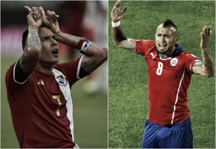 Chile y Panamá, una final por la clasificación