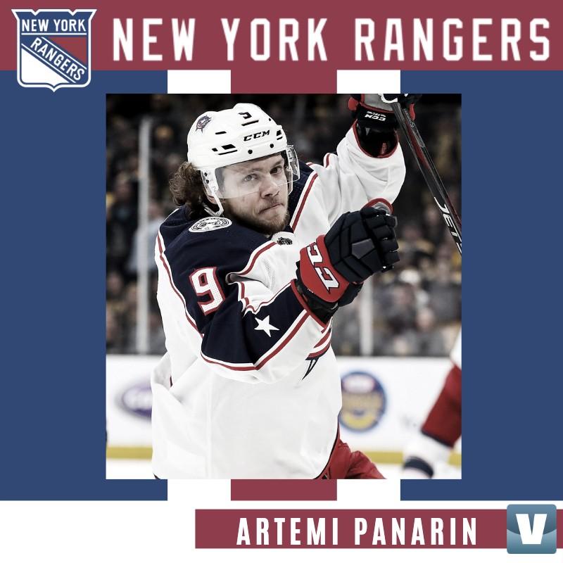 Artemi Panarin va a los New York Rangers