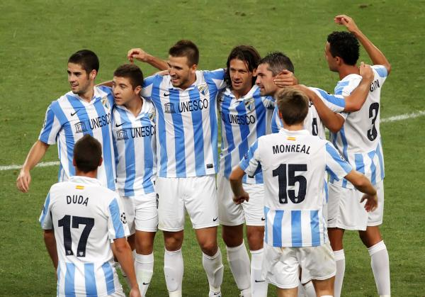 Panathinaikos-Málaga CF: puntuaciones del Málaga CF, Play-offs partido de vuelta Champions League