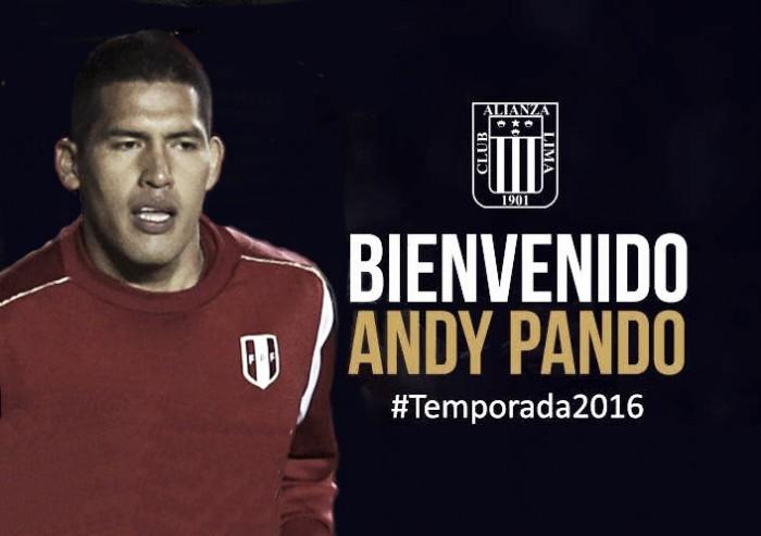 Alianza Lima concretó el fichaje de Andy Pando