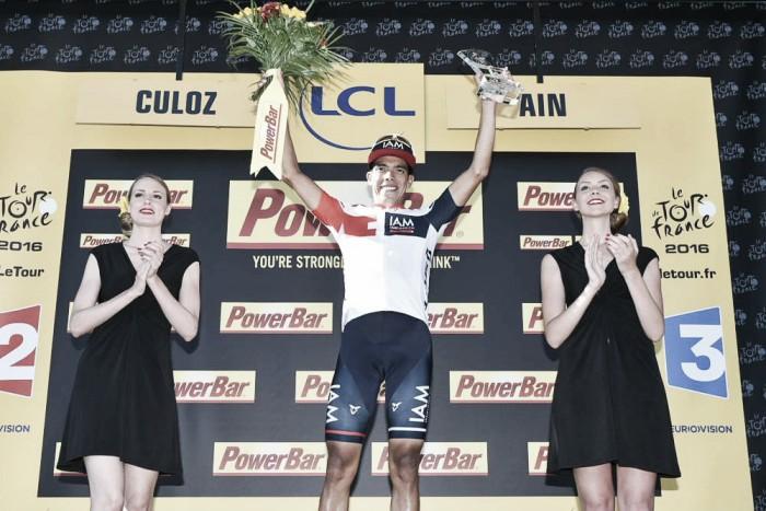 """Jarlinson Pantano: """"Estar en el podio del Tour es un sueño hecho realidad"""""""