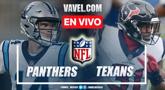Resumen y anotaciones del Panthers 24-9 Texans en NFL