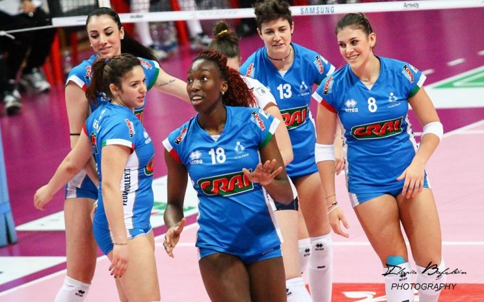 Volley F - Percorso netto per l'Italia nel girone degli Europei, battuta anche la Croazia, quarti di finale centrati.