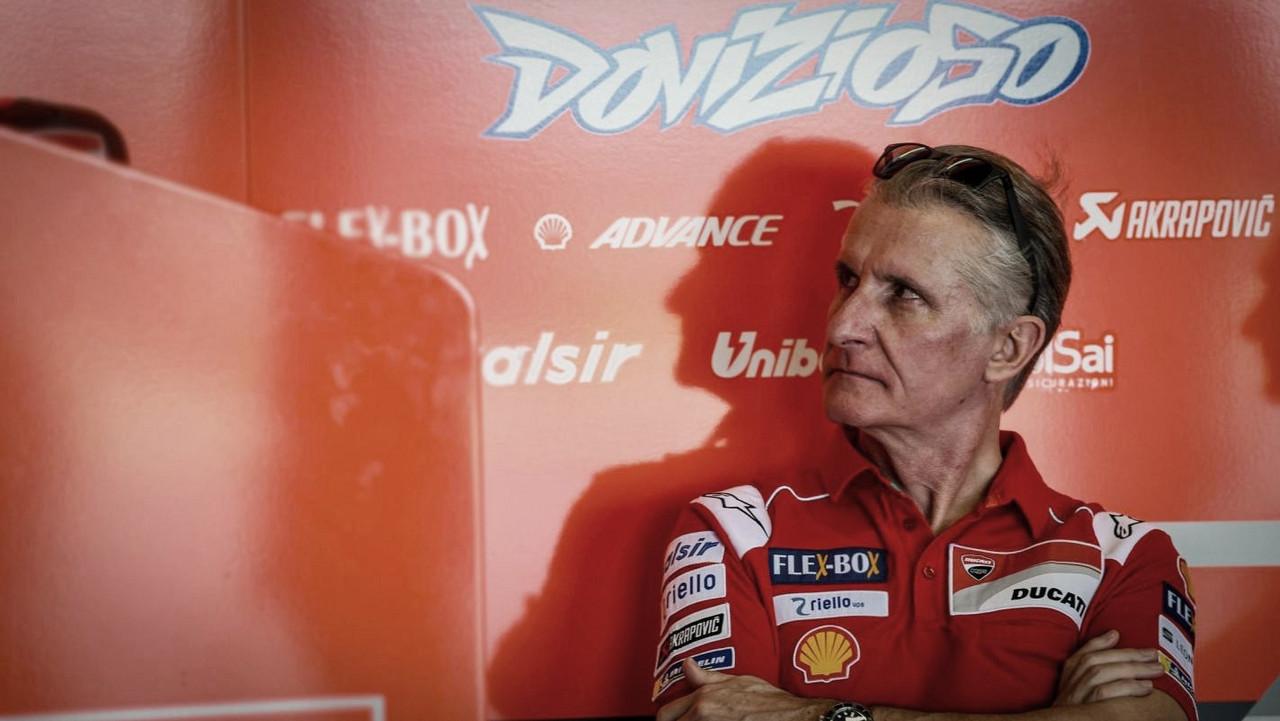 """Paolo Ciabatti: """"Confío en que Dovizioso llegue al 100% a Jerez"""""""