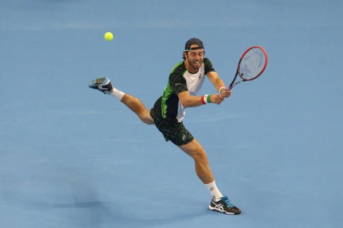 ATP Shanghai - Lorenzi di rimonta, batte Garcia Lopez e approda al secondo turno