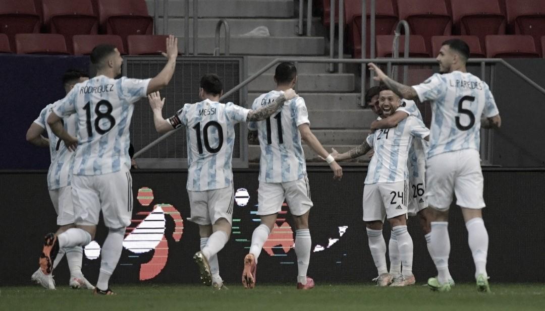 Papu Gómez marca no começo, garante vitória da Argentina sobre Paraguai e classificação às quartas