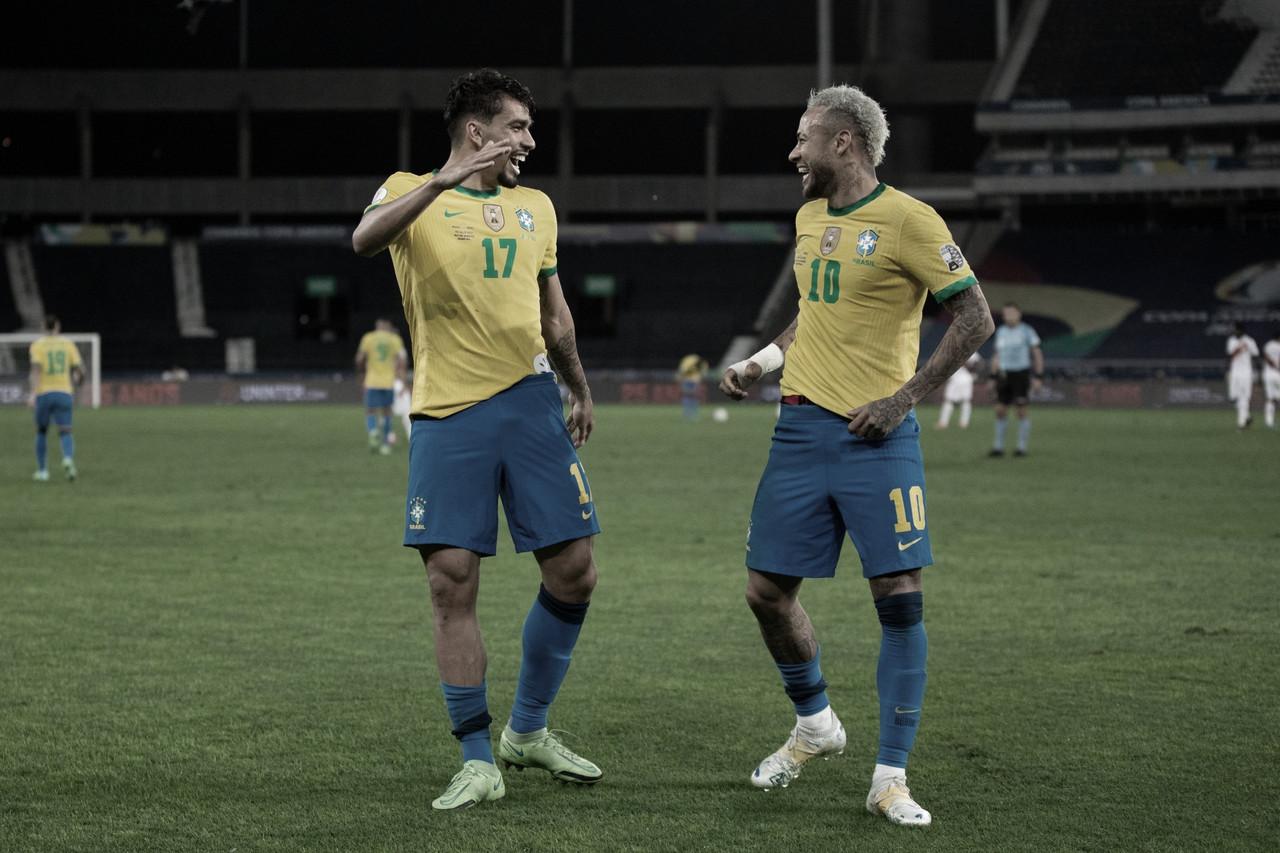 Brasil supera preparação tumultuada e atuações irregulares para chegar à final da Copa América 2021