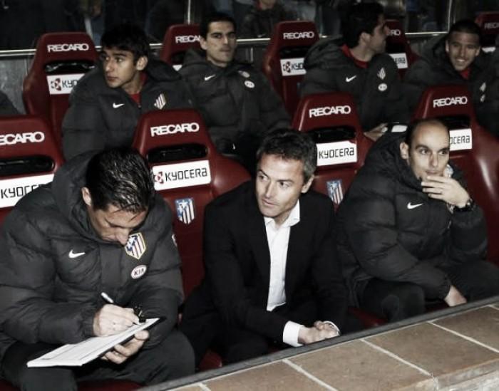 Fran Escribà rompe su maldición con el Atlético de Madrid