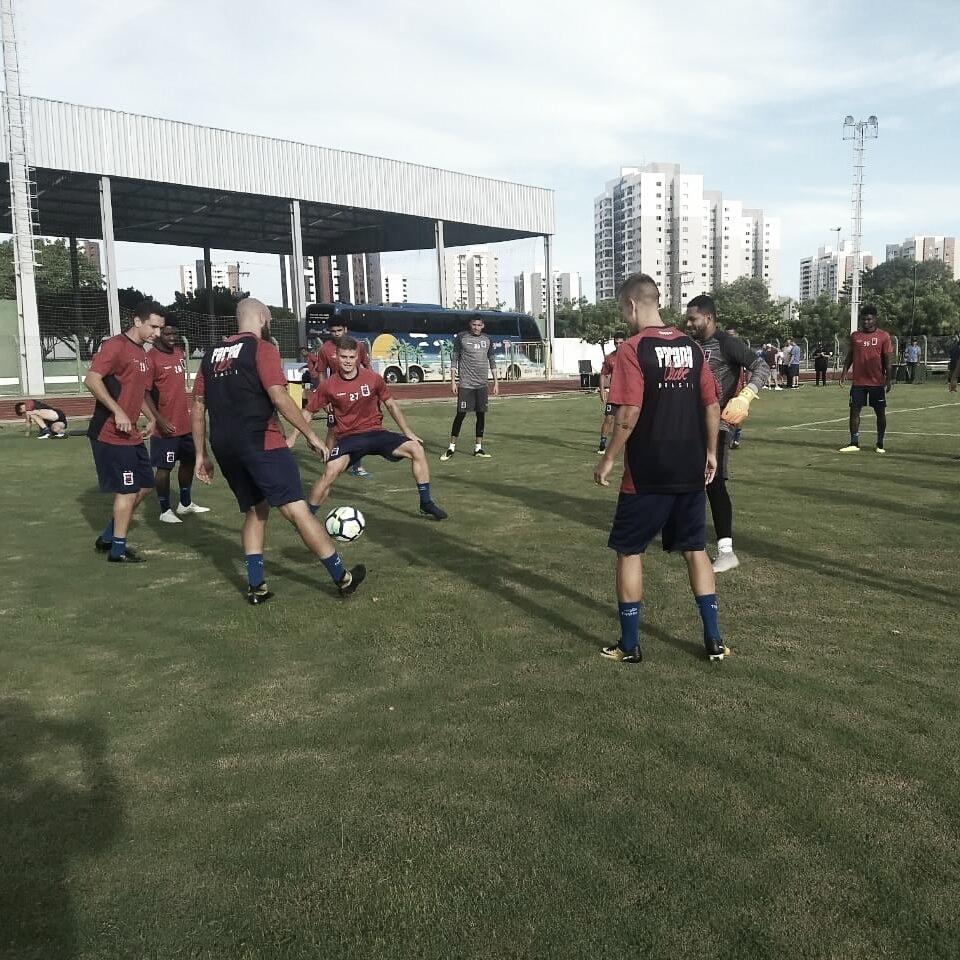 Paraná se prepara para estrear na Copa do Brasil, contra o Itabaiana